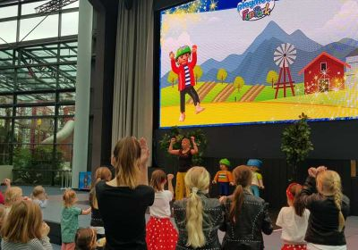 Kinderanimation im Playmobil Funpark 27.01.2018